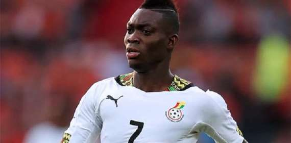 Christian Atsu urges young players grab Black Stars chance with both hands