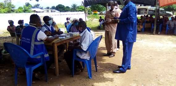 Dormaa East: EC Lauded For A Well Organised, Incident-Free Voter Registratio