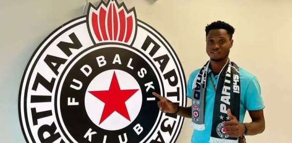 OFFICIAL: Ashgold SC attacker Isaac Opoku Agyemang joins FK Partizan on loan