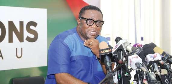 Elvis Afriyie-Ankrah rubbish reports of bullet proof vests, guns for NDC pol