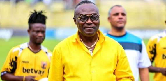 Ashgold President Dr Kweku Frimpong denies involvement in match-fixing scand