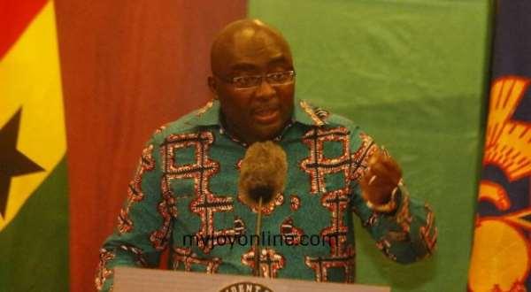 Bawumia Attacks Mahama, 'He's An Incompetent Nice Man'