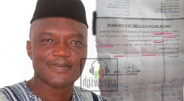 Sawla DCE Describes Error-Ridden Letter Fake