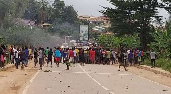 Foreigners Inciting Locals To Riot At Ayanfuri—Operation Vanguard Warns