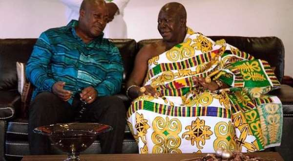 Julius Debrah's statement was to clarify matters not undermine Otumfuo – Mahama