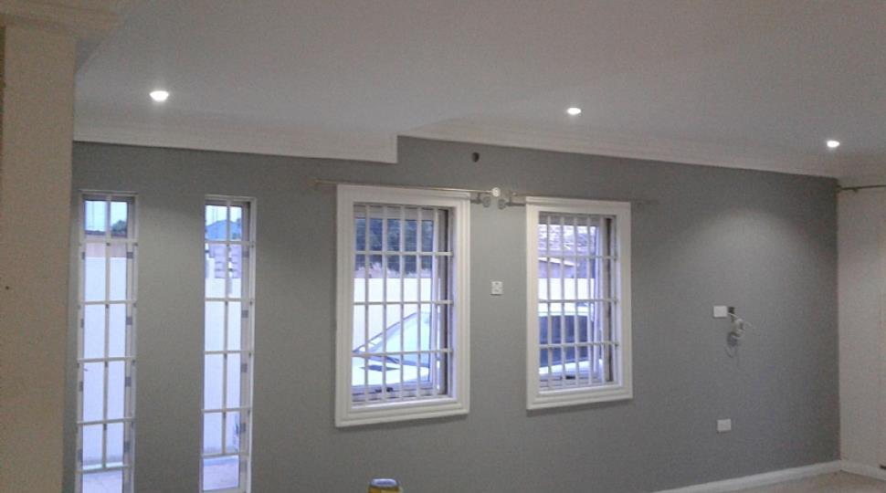 3 bedrooms ensuite hse for sale gated community for Living room designs in ghana