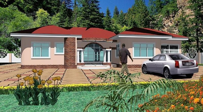 Modern house plans in ghana house modern for Modern building designs in ghana
