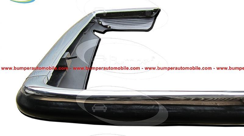 Rear bumper Mercedes W107 stainless steel.jpg
