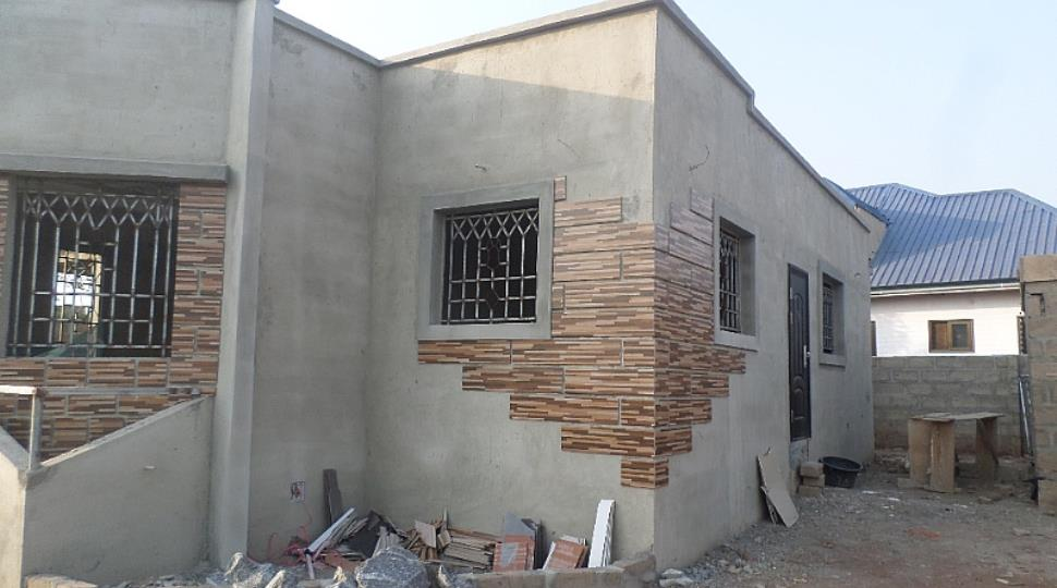 Two Bedroom House For Sale At Pokuase