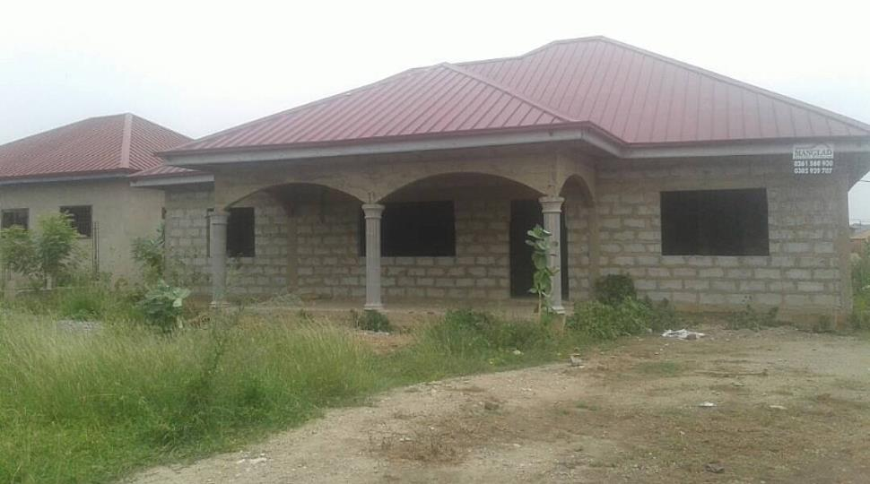 3 Bedroom House Uncompleted For Sale At Tema