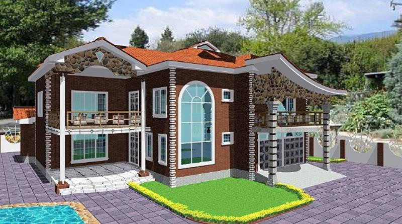 Modern house plans in ghana home design 2017 for Modern houses in ghana