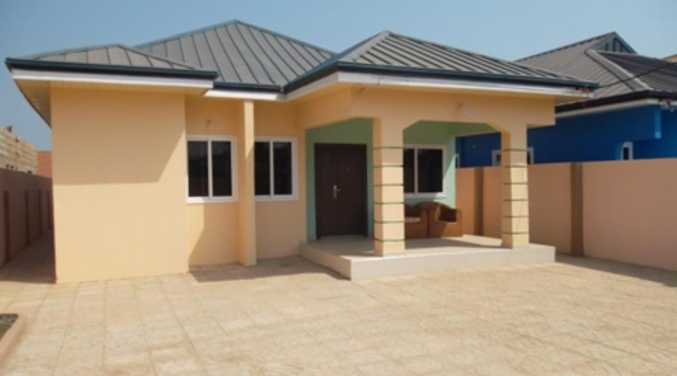 3 bed rooms houses for sale at spintex road accra ghana for Modern estate homes