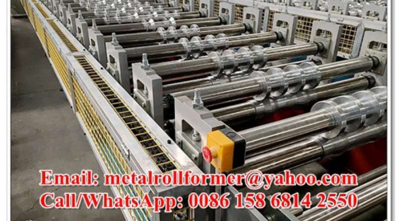 Corrugated Metal Roof Sheet Manufacturing Outfit