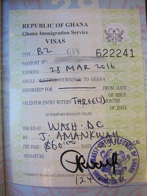 how to get a ghana visa on arrival