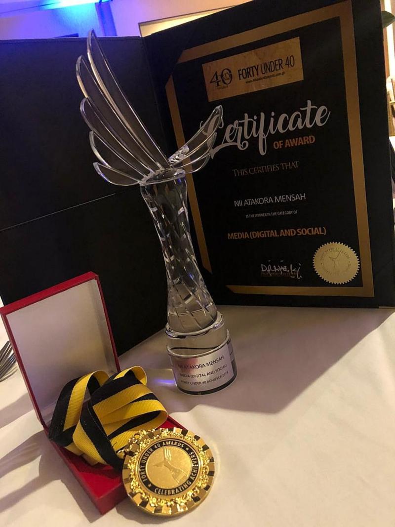 Nii Atakora Mensah of MiPROMO wins Media, Social and Digital category at