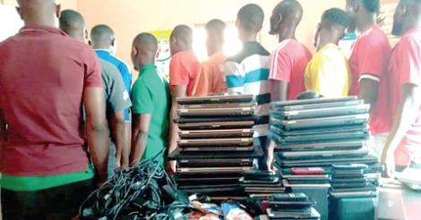 Pokuase: 23 Suspected Criminals Arrested