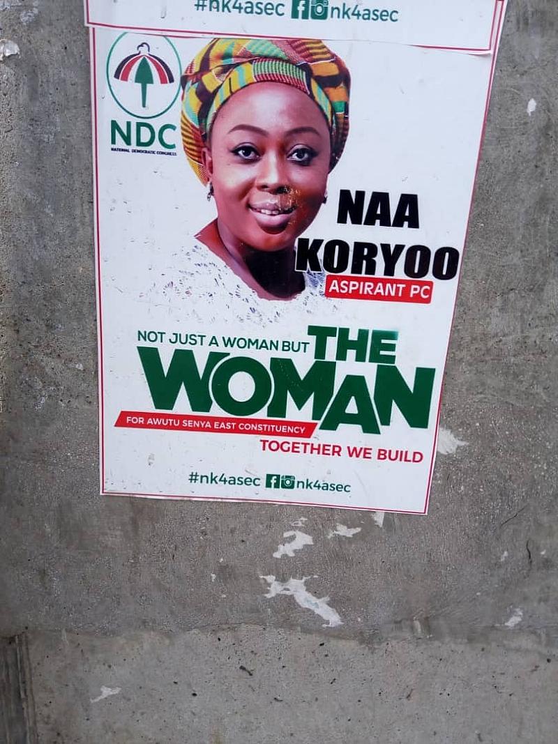 NDC Primaries: Supporters Root For Naa Koryor In Awutu Senya East