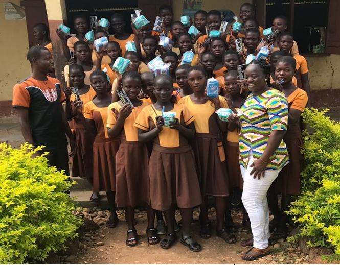 Former NDC Women's Organiser Supports School Children