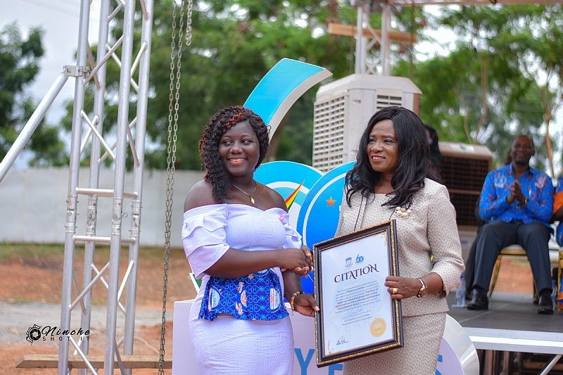 Level 300 Student Of GIJ Mhame Twebah Awarded For 'Outstanding Video Documentary'
