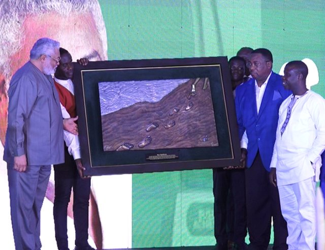 Rawlings awarded for introducing policy reforms to mining sector