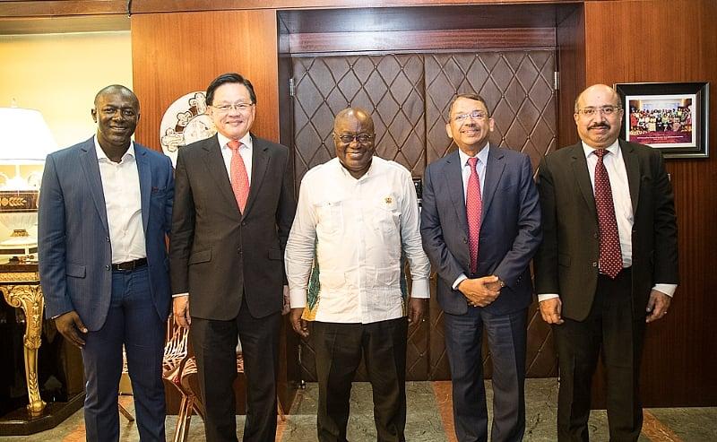 Olam Board Pays Courtesy Call On President Akufo-Addo