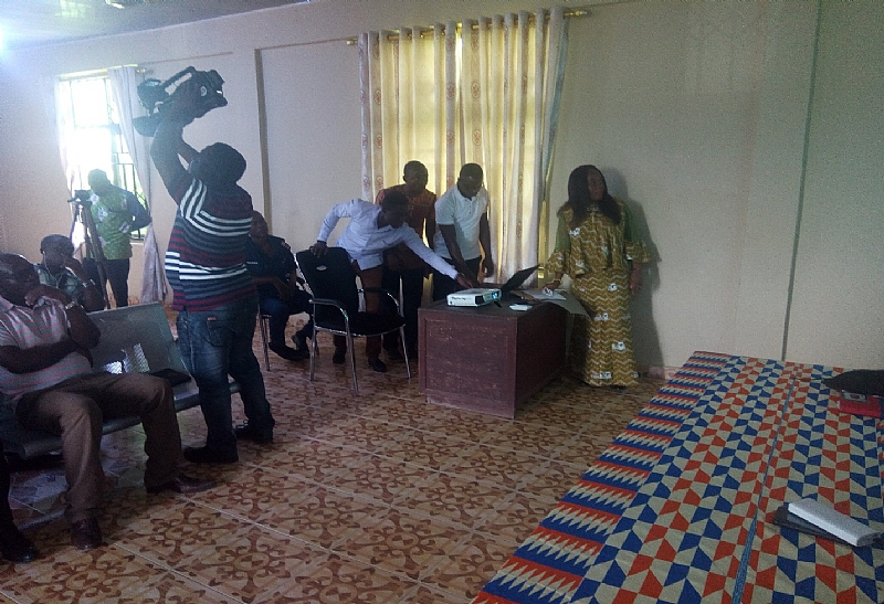 Tain District Assembly Holds Maiden Meet The Press