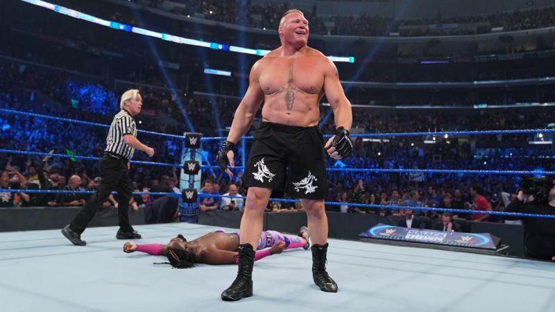 Kofi Kingston Loses World Title In Nine Seconds To Brock Lesnar