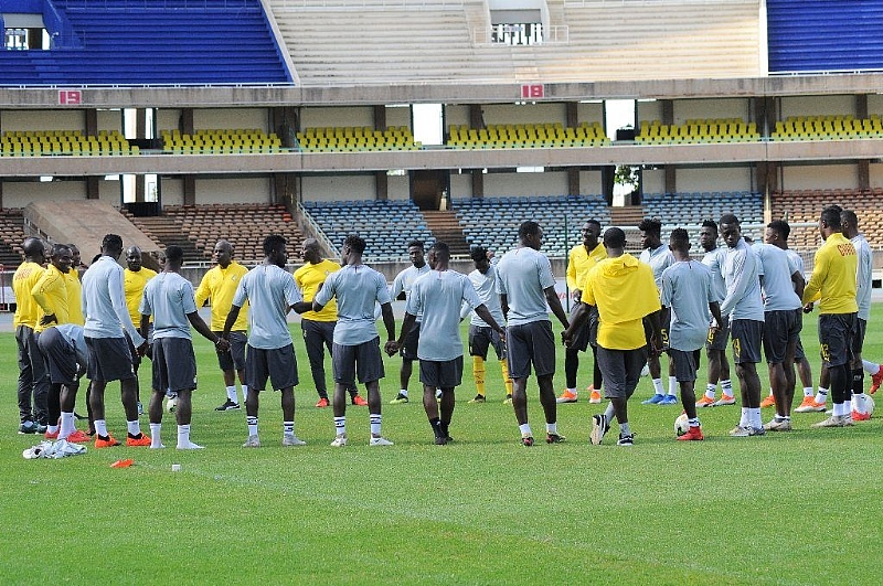 2019 AFCON Qualifier: Coach Kwesi Appiah and nine players arrive for first day of training ahead of Sierra Leone clash