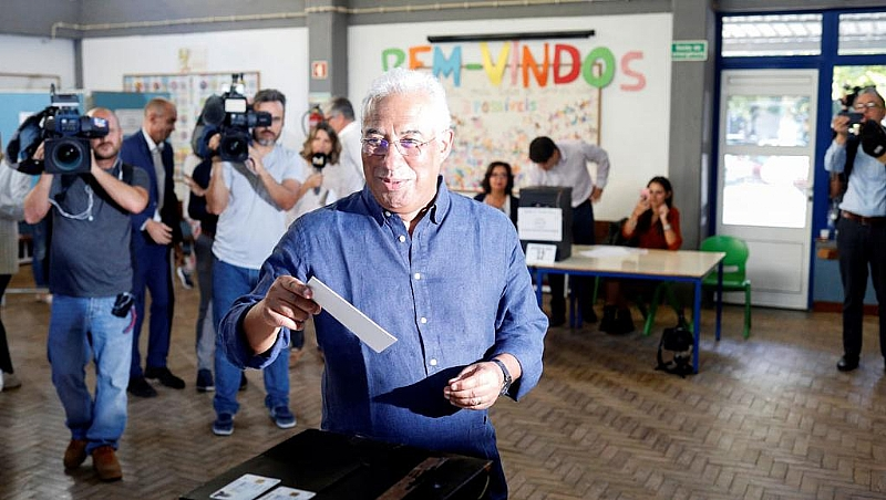 Portugal's Socialists tipped for re-election