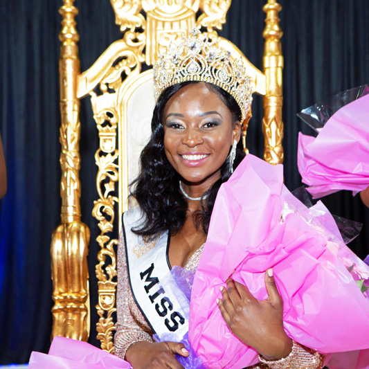 Cecilia Musonda From Zambia Becomes Miss Africa Great Britain 2019