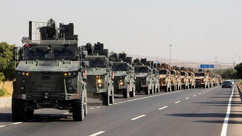 Turkey begins assault on Syrian Kurds