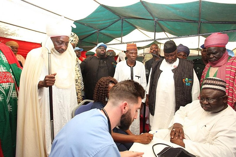 Dutse, Jigawa State: Nasiru Haladu Danu (NHD) Medical Mission Foundation Kicks Off Three-Day Free Me - Modern Ghana