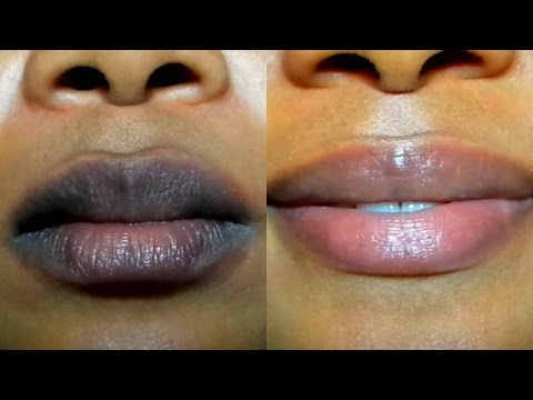 How To Lighten Your Dark Lips Real Fast At Home
