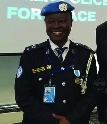 Ghanaian Police Officer Phyllis Osei wins United Nations Female Police Officer of the Year Award
