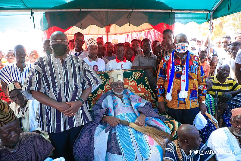 Naa Bakpem Mahama Grateful To Akufo-Addo, Bawumia For Dagbon Peace