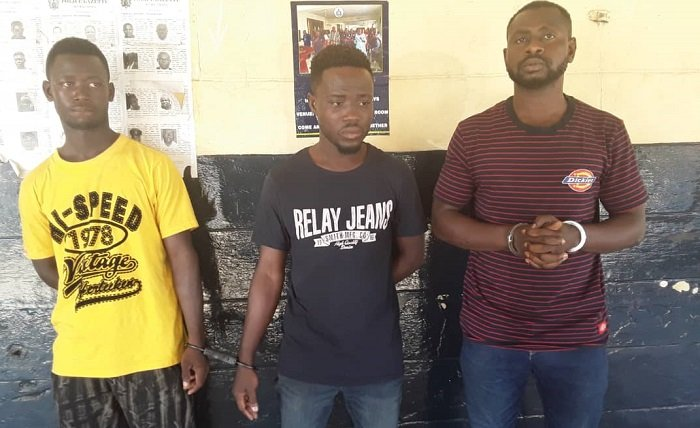 3 Awudome Thieves Busted