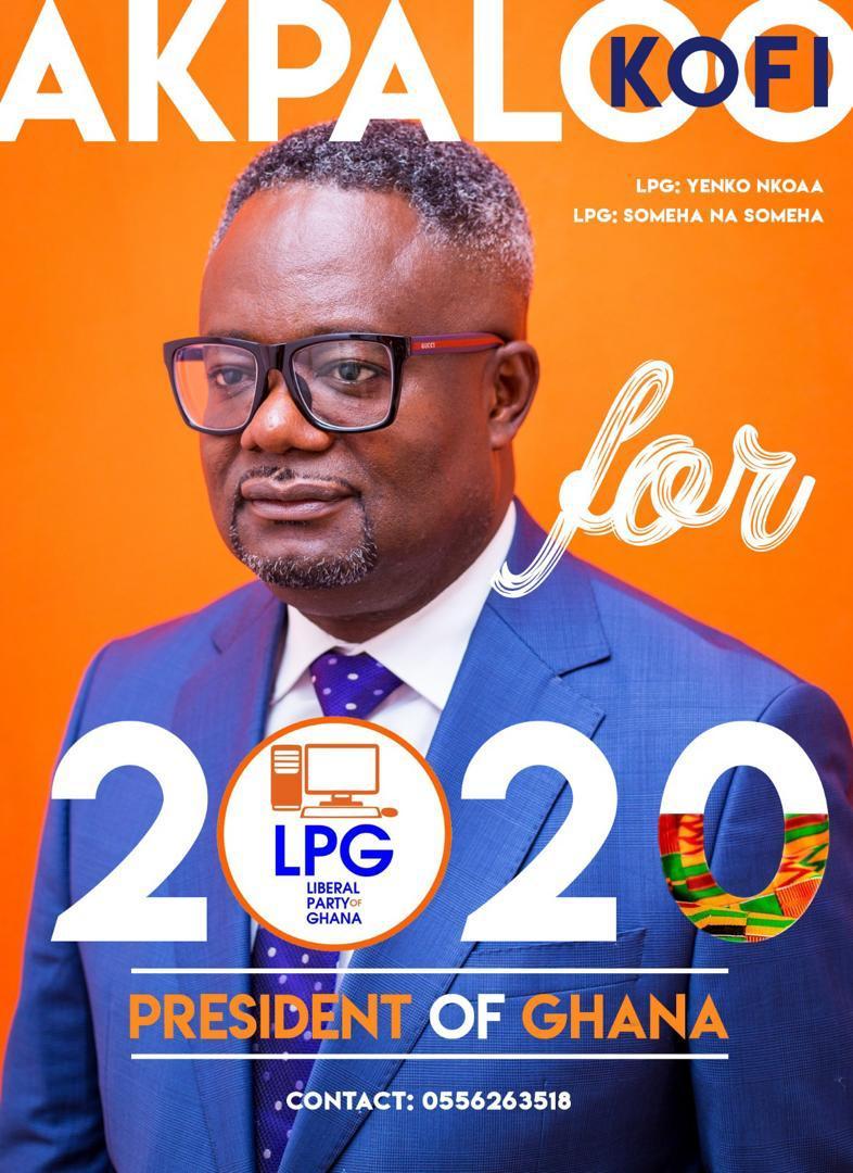 I Will Improve Ghana's Economy If Voted Into Power – Kofi Akpaloo