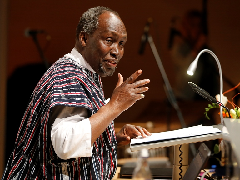 ngugi wa thiongo 52 quotes from ngũgĩ wa thiong'o: 'written words can also sing', 'our lives are a battlefield on which is fought a continuous war between the forces that are.
