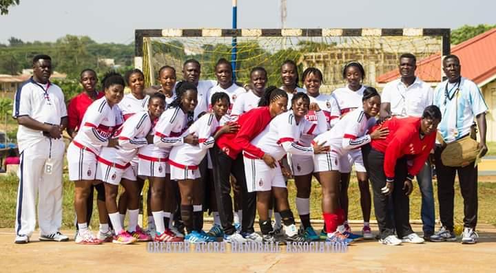 Army Outclass Prisons In Greater Accra Handball League - Modern Ghana