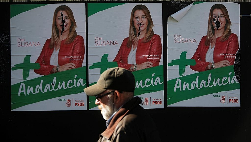 Andalusia elections on Sunday - tiny Spanish far-right party gaining ground