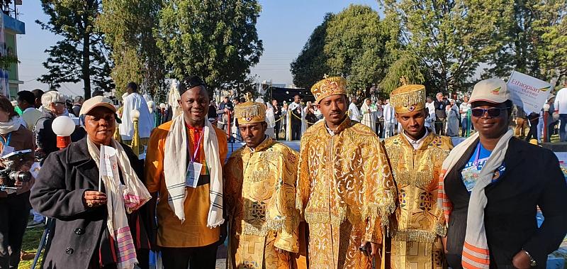 Ghanaian, Nigerian Team Participate In Ethiopia's Timket Festival