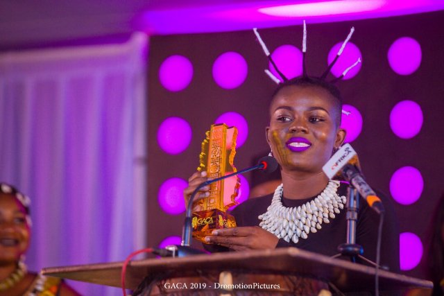 Wiyaala wins Artiste of the Year at Ghana Arts and Culture Awards