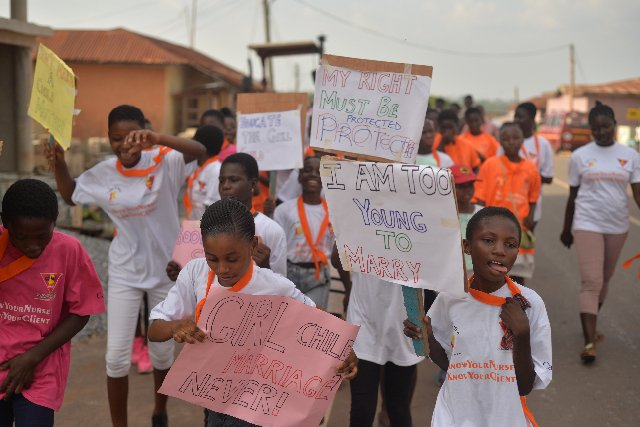 PPAG'S Young and Wise Club marches against sexual and gender-based violence