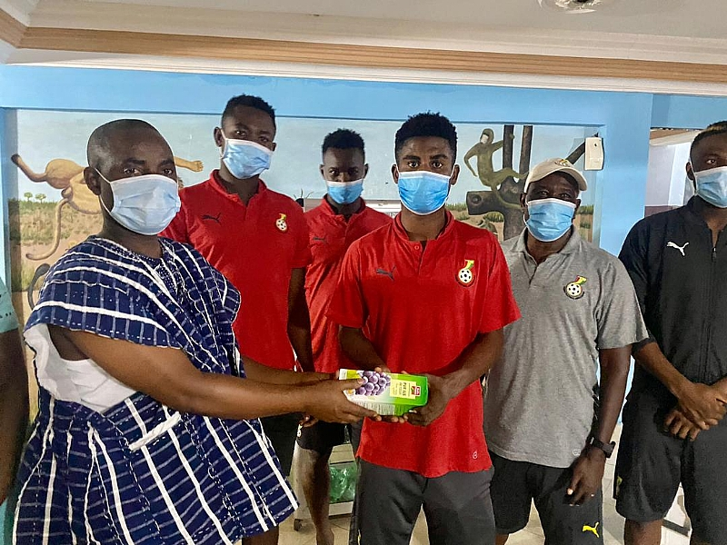 WAFU Cup of Nations: Ghana Embassy in Benin donates to Black Satellites