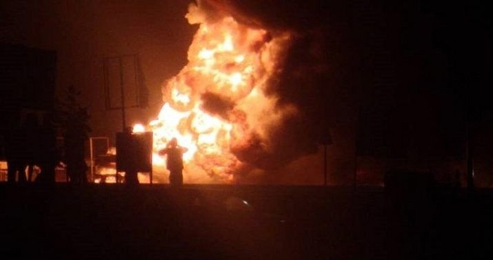 Fire guts Kaneshie market