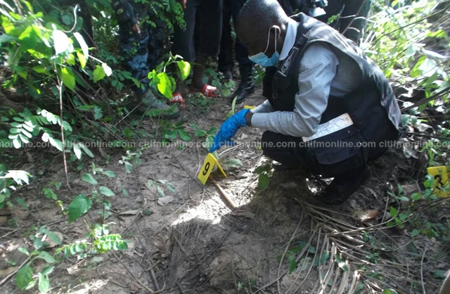 Sogakope: Woman found dead, buried on cassava farm at Bakpo