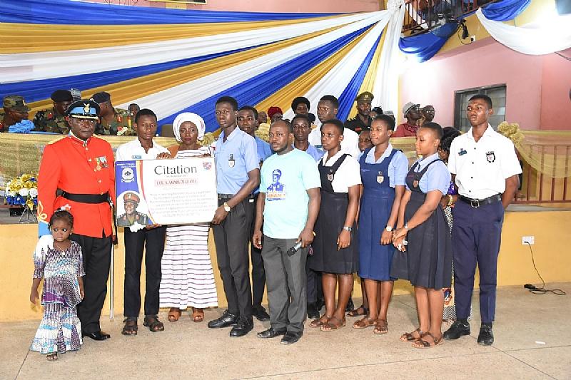 Afshts-Kumasi Bids Col Amadu-Mahama Farewell.