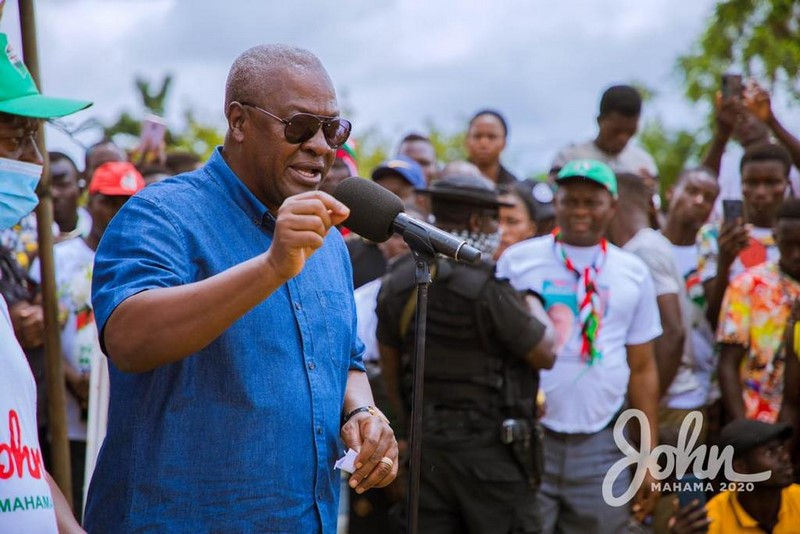 Election 2020:NDC will win four out of six new regions – Mahama