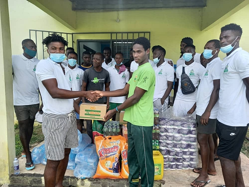 Elmina Sharks makes donation to Anglican Ministries Orphanage