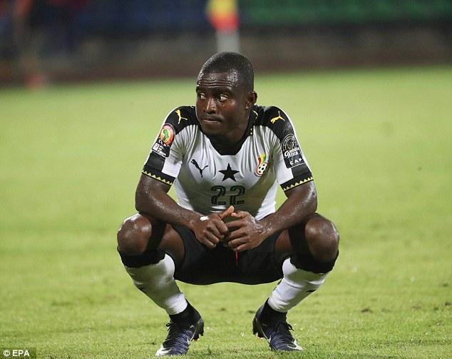 Frank Acheampong Ready For Black Stars Return
